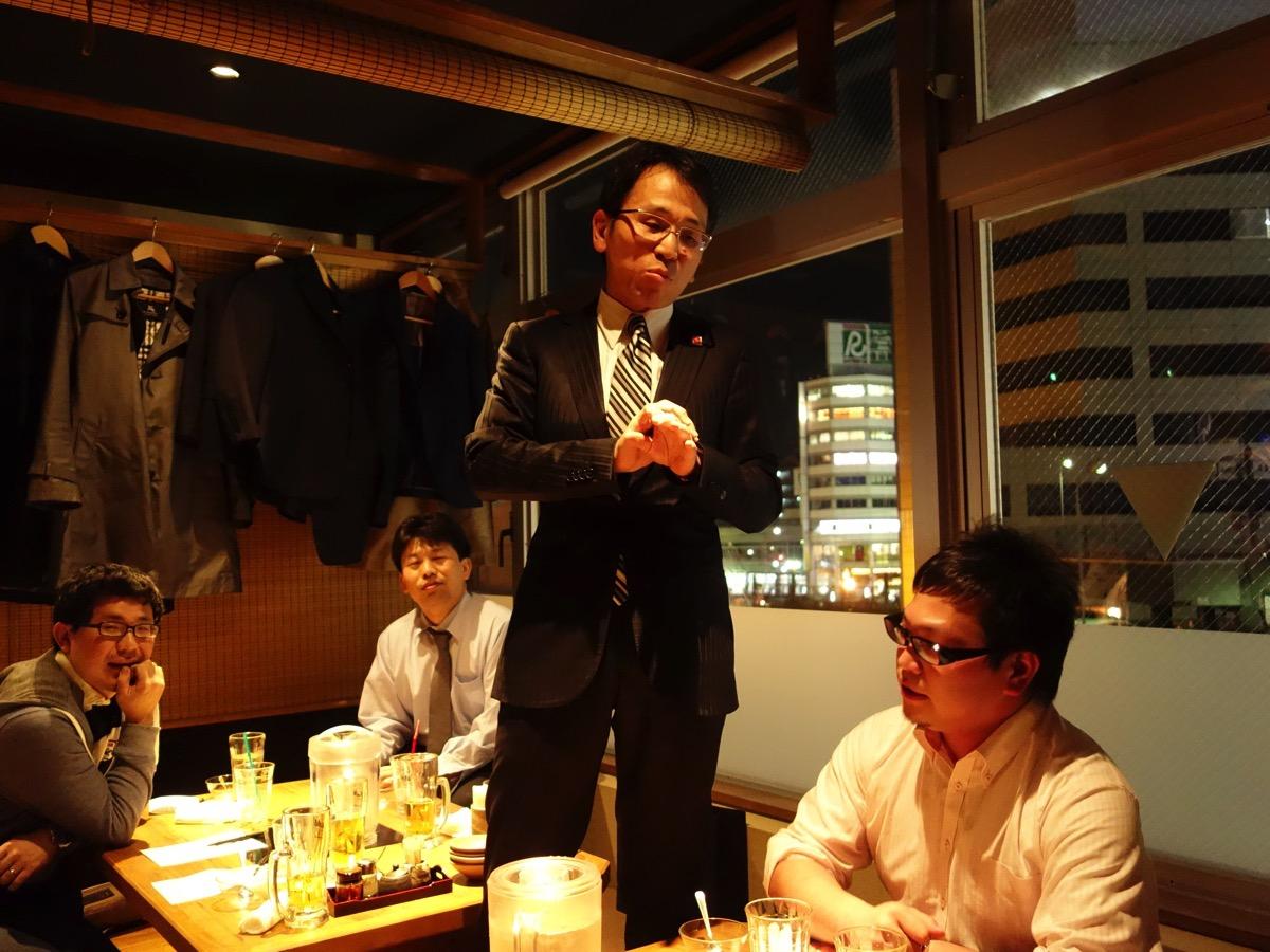 児島ゼミ20周年記念パーティー 案内状を発送いたしました